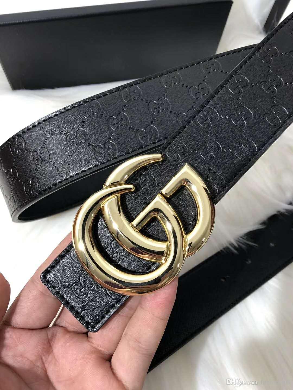 Da moda cinto de grife cinto de luxo e de alta qualidade botão H plana calça jeans cinto de luxo dos homens e das mulheres dos homens de couro