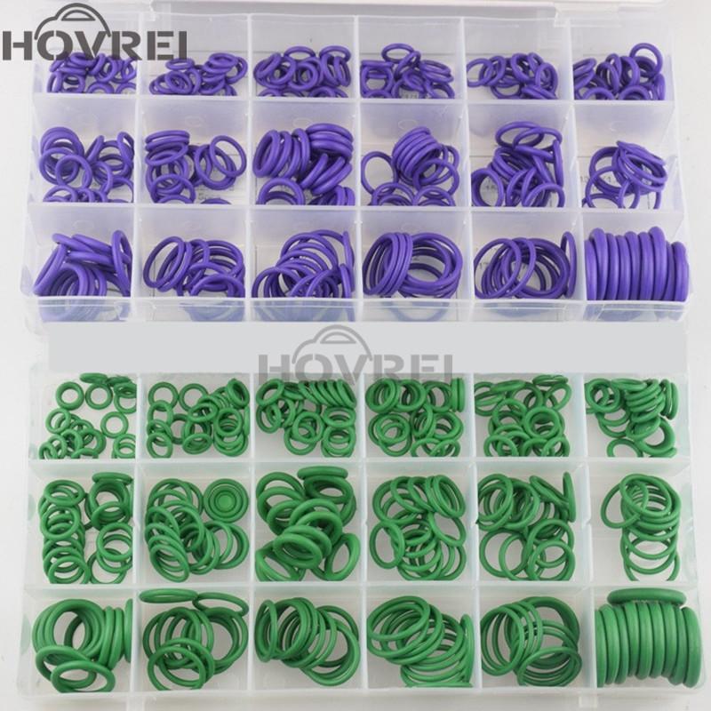 De haute qualité en caoutchouc 270Pcs 18 tailles Car Auto O Anneaux Washer Joints Joint Assortiment Air conditionné O-Rings Repair Tool Kit