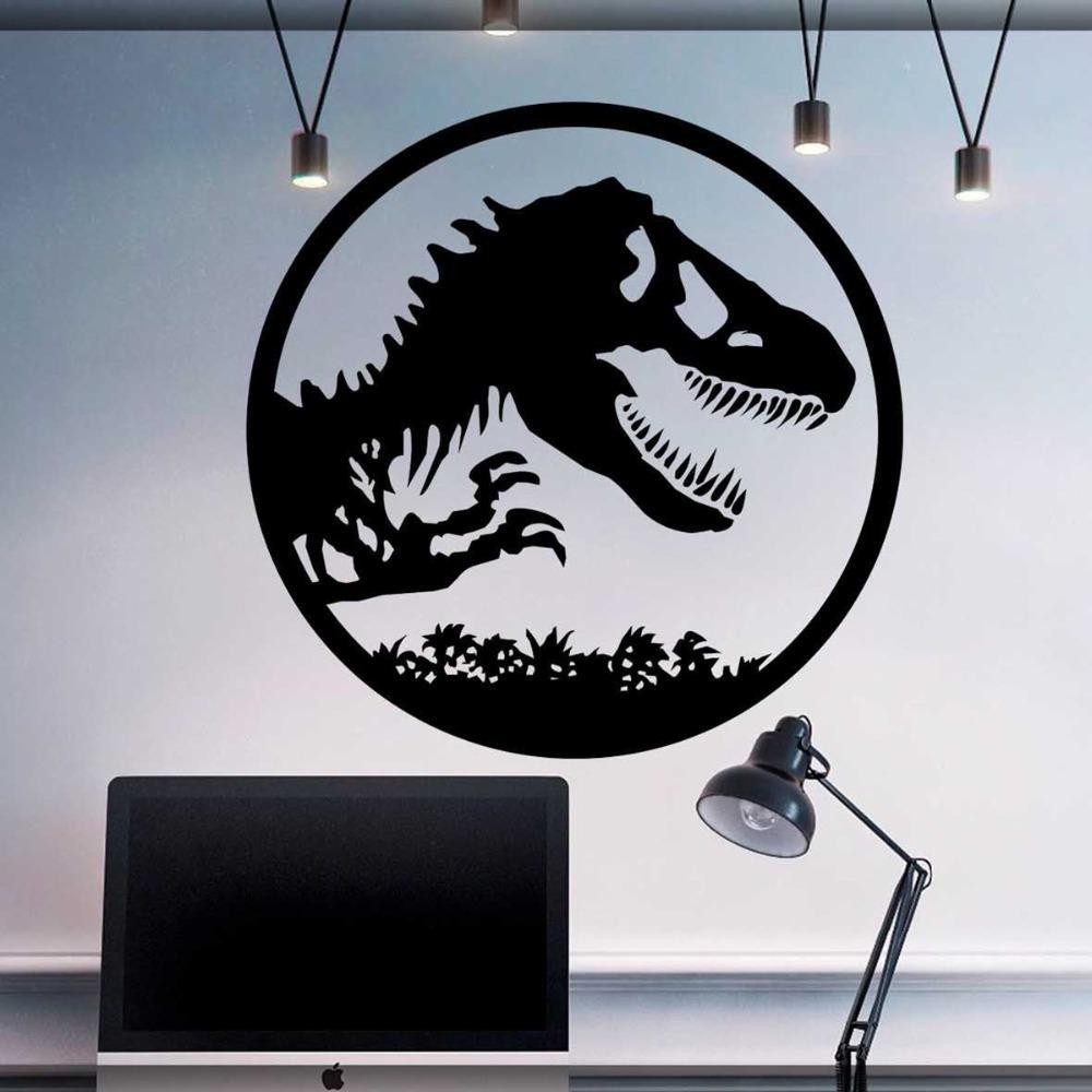 Jurassic Park Logo Wall Decal Jurassic World Art Sticker ...