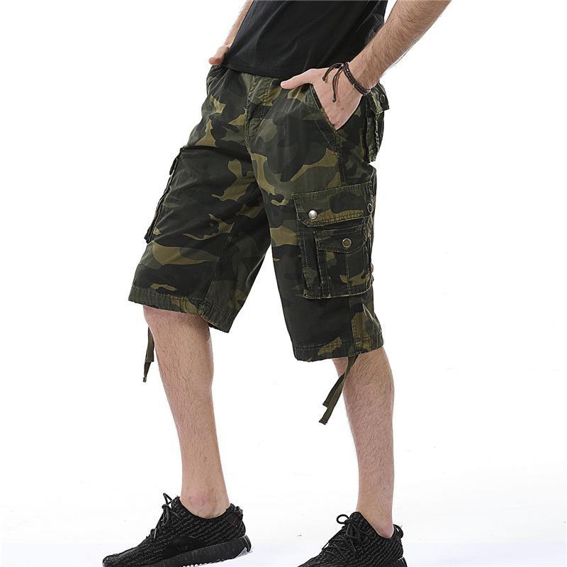 Pantaloni dhgate Cargo Shorts Mens estate hanno potato con grandi tasche casuale Tuta jogging moda di New Pantaloni 6 colori per Wholesale
