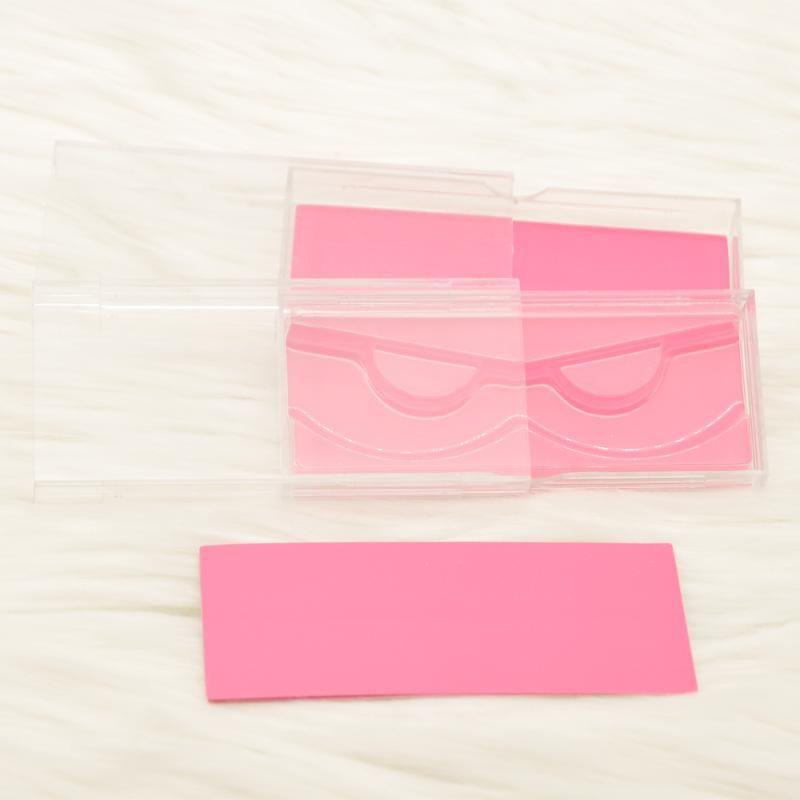 оптовая ложных ресницы упаковки коробка компенсаторы коробка упаковки на заказ из искусственного CILS 3d норка Ресницы пластик ясно сверкает случай навалом