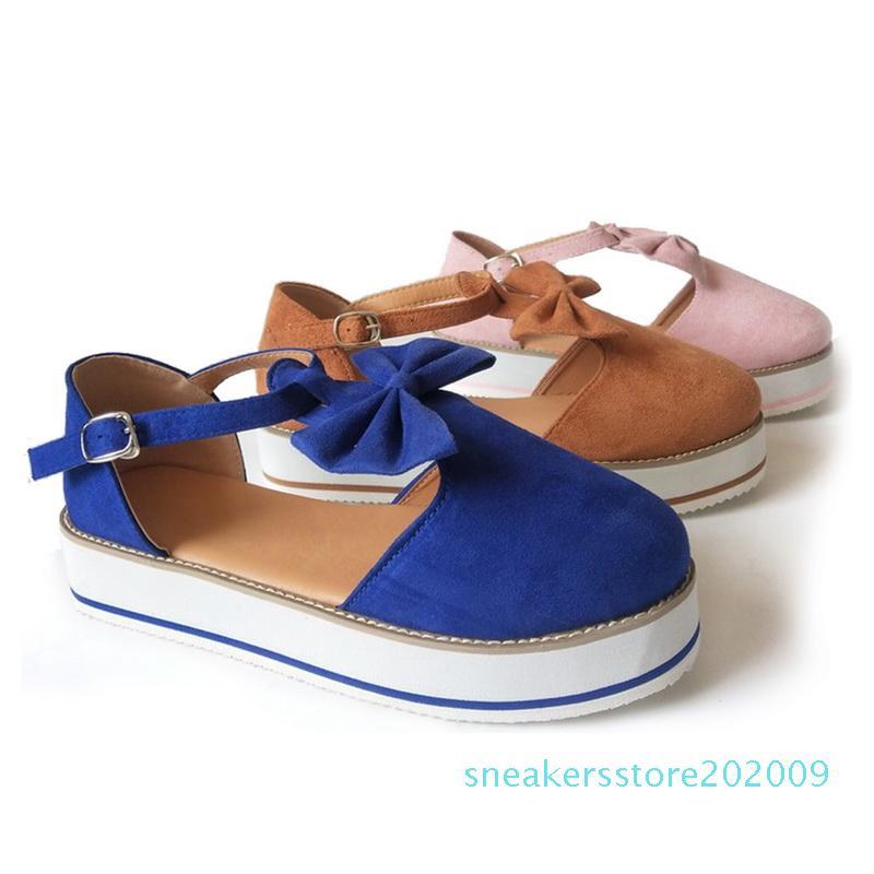 Verão Mulheres Sandals Senhoras suave oco Out Wedge PU Abrir Toe Calçados Moda Feminina Plataforma Cork Shoes 2020 S09
