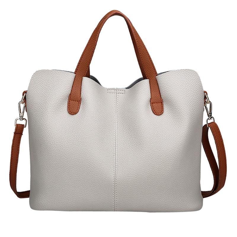 Cuero de la manera Mujer bolso de las mujeres bolso de Crossbody del bolso mensajero de la vendimia euro americano Bolsas mujeres al por mayor