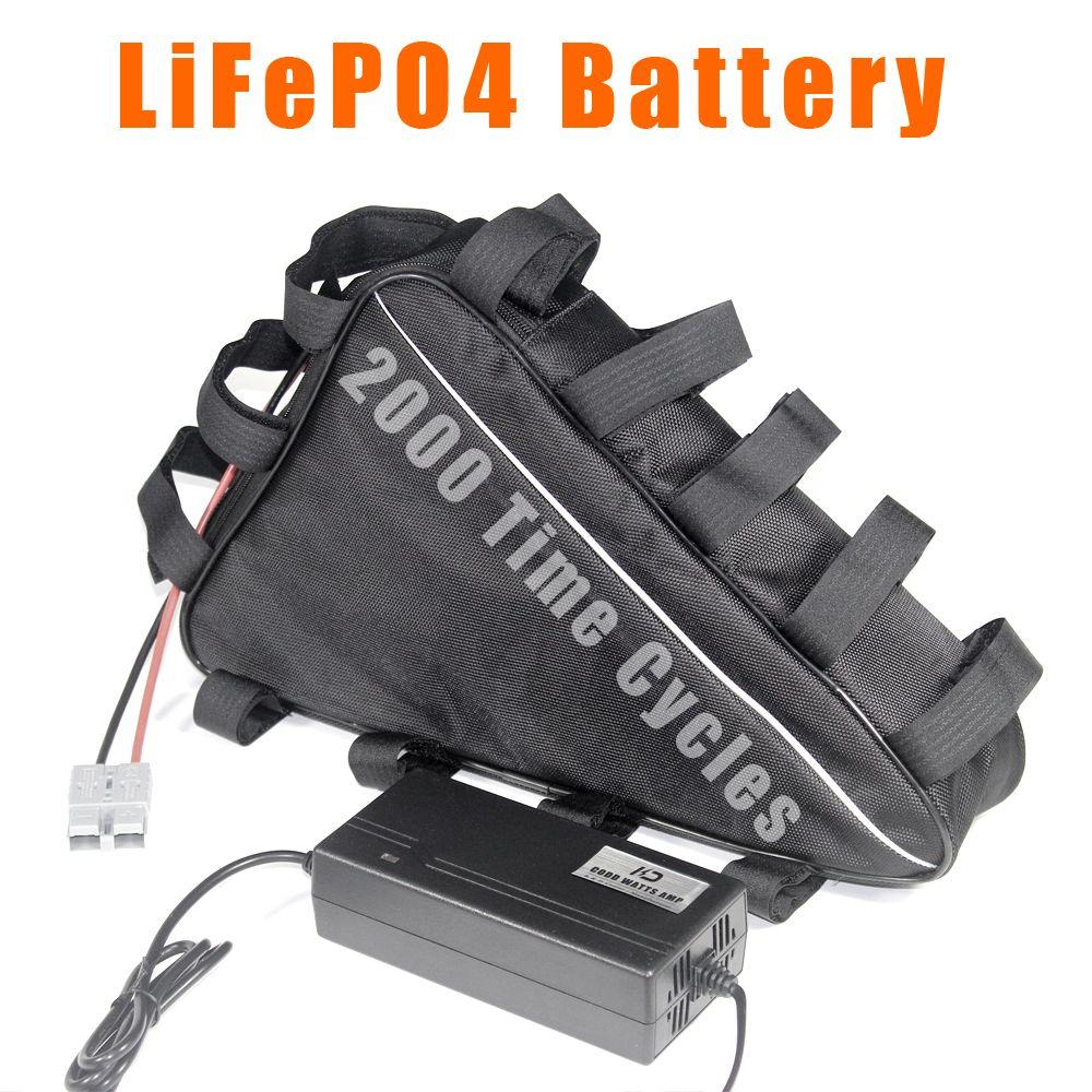 LifePo4-Dreieck-Batterie 48V 20Ah 25ah Ebike Electric Bike-Batterien langes Zyklusleben