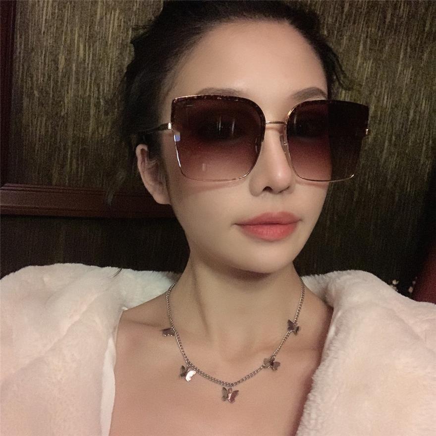 F украшения логотип дама бренд имя роскошных солнцезащитных очков солнцезащитных очков Side украшения очки высшей качество 5 цвета модели: FF0331