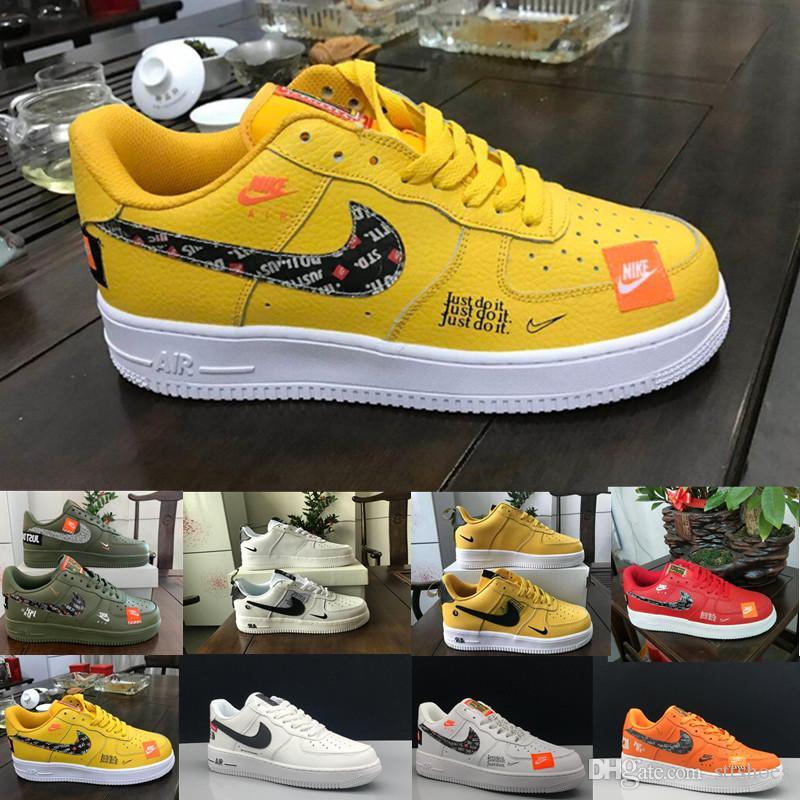 Nike Air Force 1 one Off White noir dunk Hommes Femmes Chaussures de course une planche à roulettes sport de haute taille basse Cut Chaussures de sport Formateurs blé
