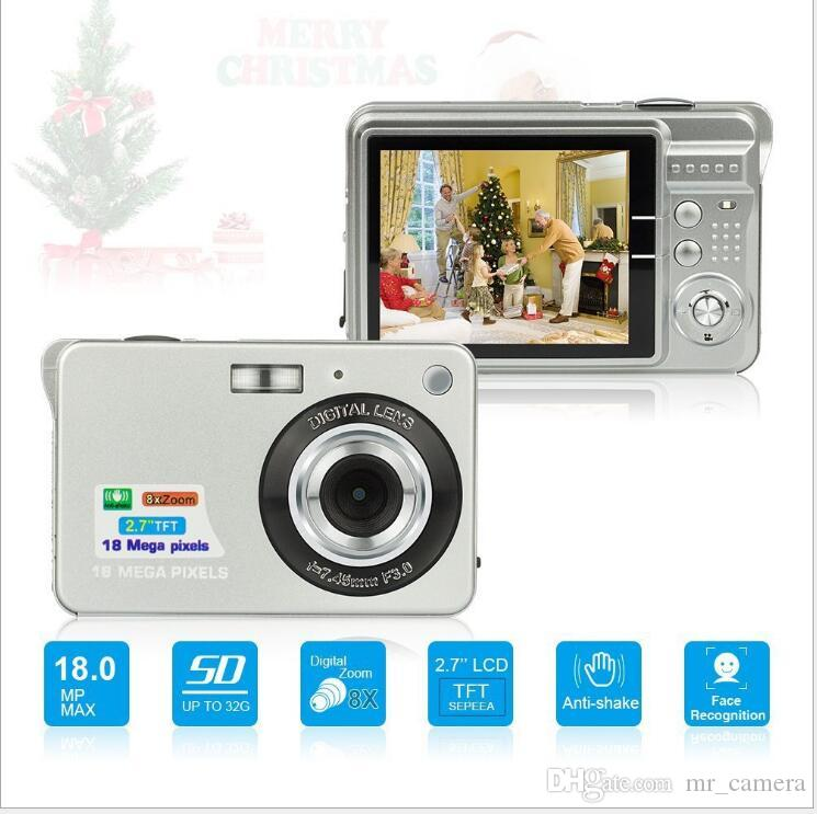 HD цифровая камера 2,7 дюйма 8x Zoom 18 миллионов HD камеры оптом