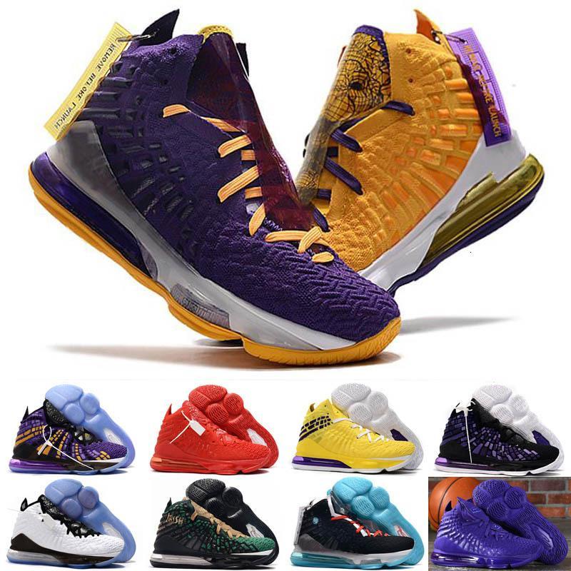 Hot 17 enfants LeBron Bron 2k chaussures de basket-ball des ventes 2019 New James 17 hommes chaussures de sport femmes Chaussures de sport