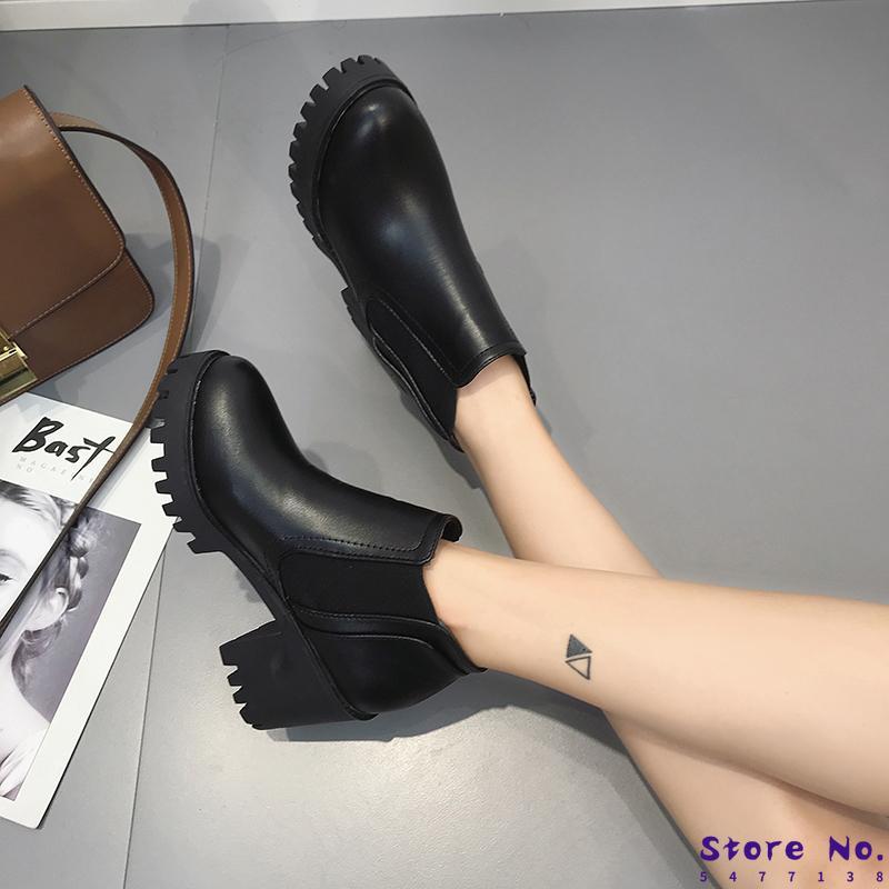 Womens Rubber Boots Autumn Shoes