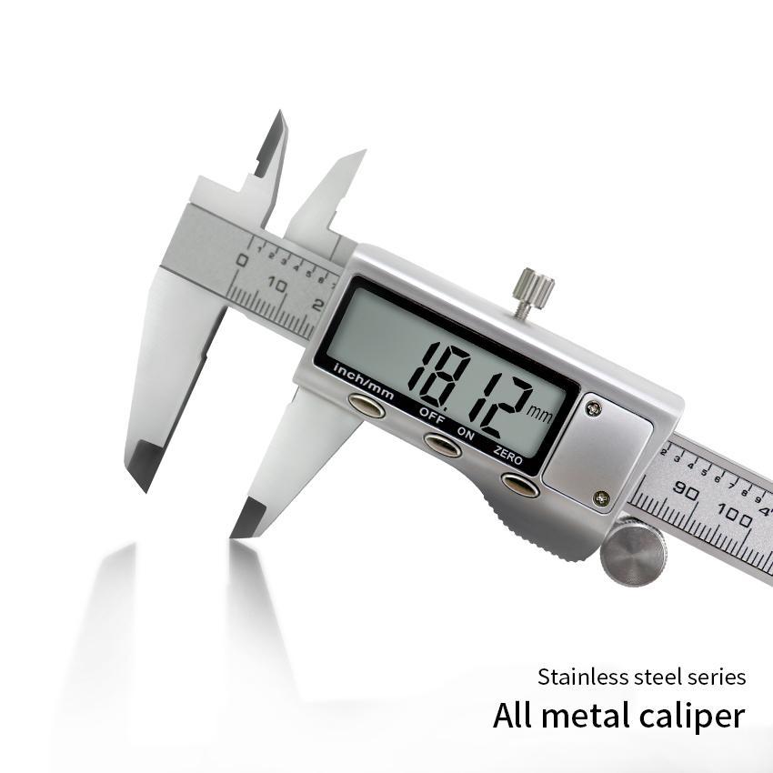 "New 0-6/"" 150mm Stainless Steel Digital Caliper USA SELL"