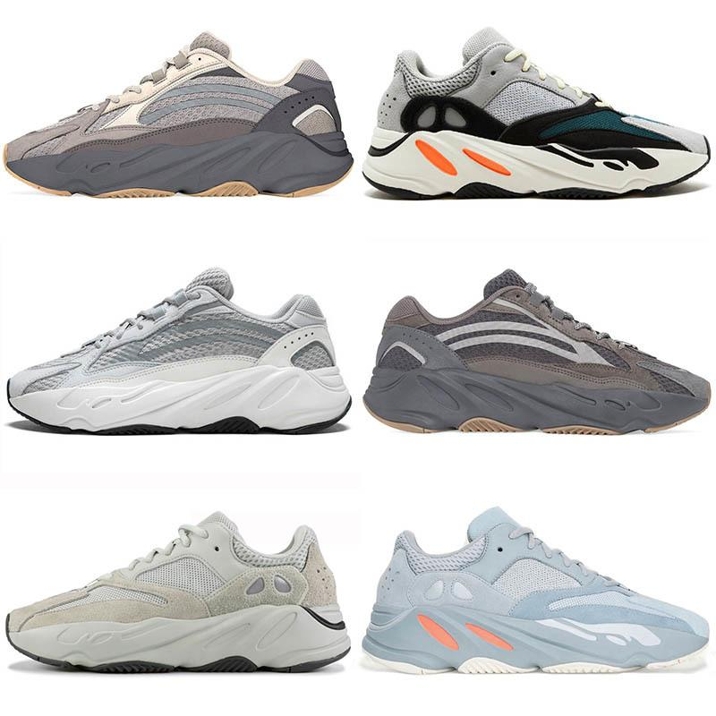 700 Cement Inertia Mauve Running Shoes Mens Wave Runner 700 Kanye West Fashion Designer Sneakers Womens 2019 Brand Us5-11.5