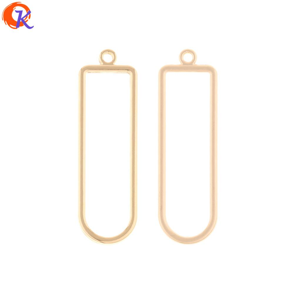 wholesale 100Pcs 11*37MM Jewelry Making/Earring Accessories/Geometry Shape/DIY Connector Parts/Hand Made/Earring Findings