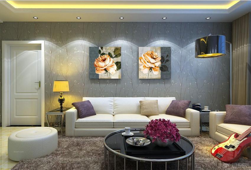 Лотос фото Цветочный печати на современных Живопись Холст Home Art Wall Масло Modular Живопись Бильдер Фотографии Cuadro без рамки