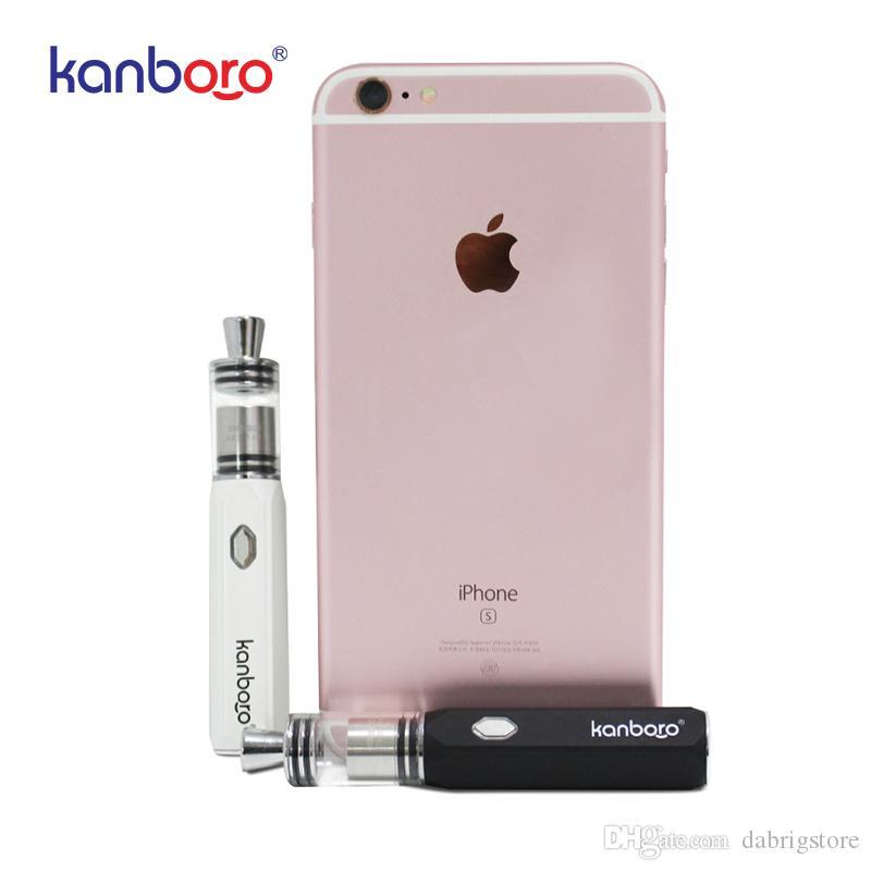 DH porte vente chaude de haute qualité herbe sèche vaporisateur mini dab stylo à cire e-cigarette kanboro sego kit
