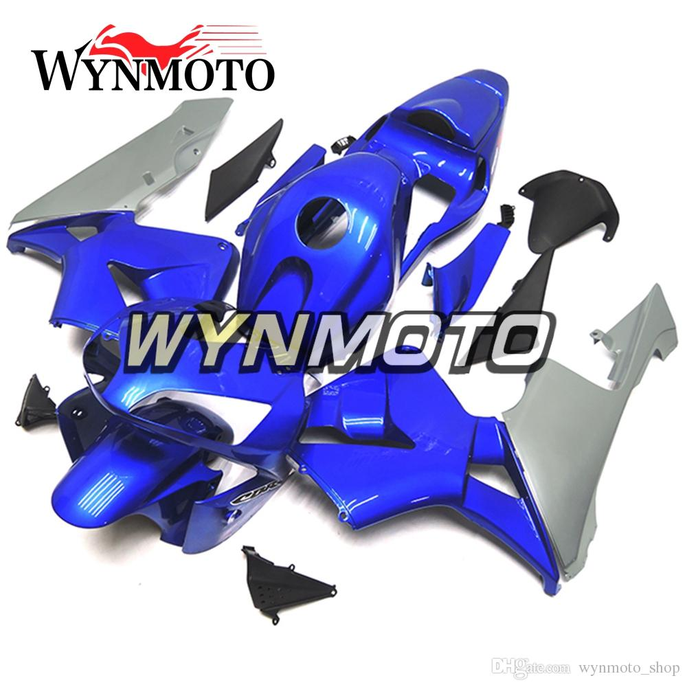 Navy Blue Motorcycle Fairings For Honda CBR600RR 2003 2004 F5 03 04 ABS Plastic Injection motorbike Kits cowlings covers