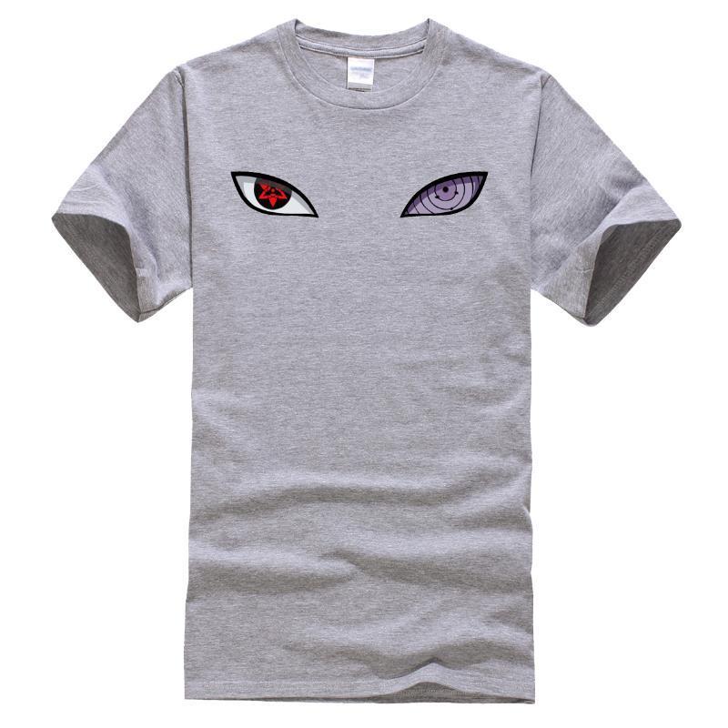 Наруто Япония аниме Hip Hop Футболки мужского New 2020 летних повседневных топов Хлопок Harajuku Футболка Streetwear Мода Мужской T-Shirt