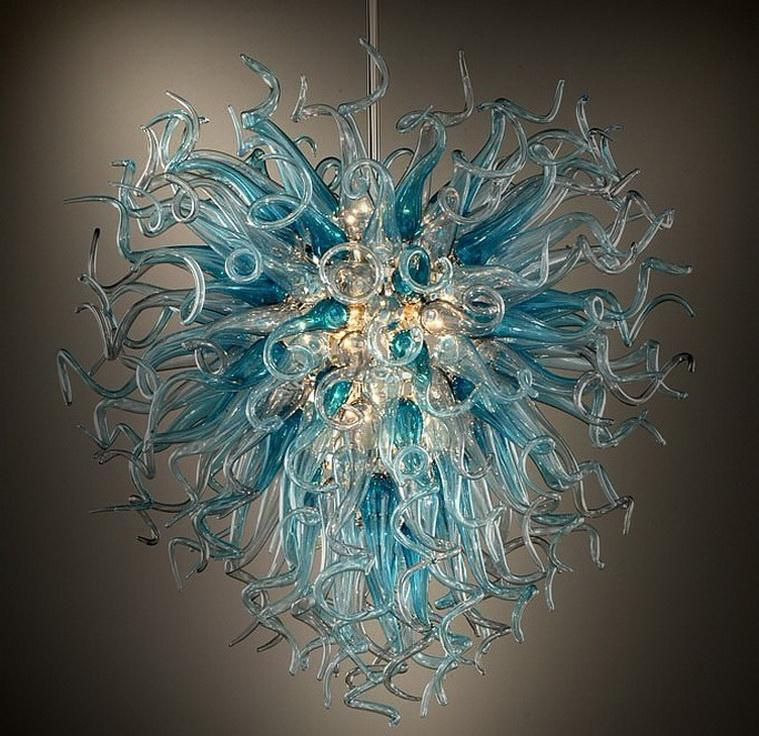Lower Price Modern Chandelier Lighting 110V-240V LED Bulbs Hanging New Design Led Chandelier for High Ceiling
