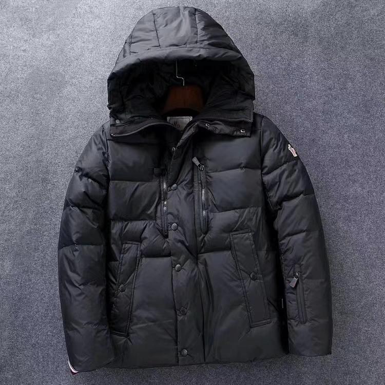 mens 2019 clothes classic Long sleeve zipper goose down jackets warm mens winter coat outwear new hoodie down coats Parka jacket 93-12