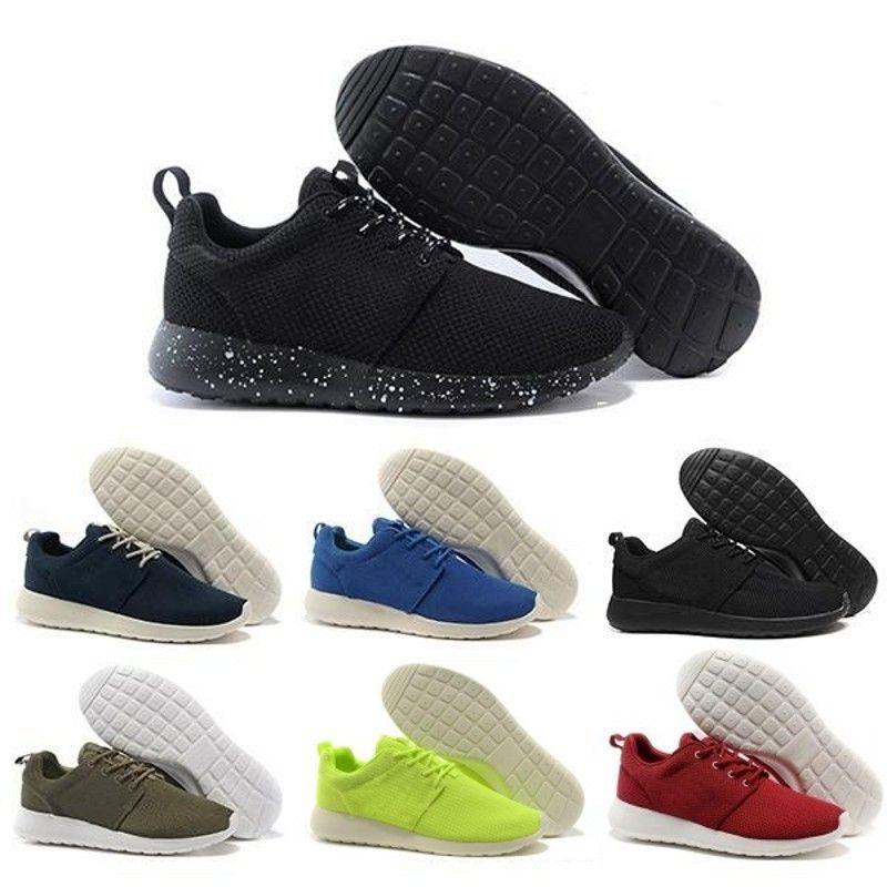 Vente en gros Run Hommes Femmes Chaussures Casual London Olympic White Ros Noir Rouge Gris Bleu Outdoor Chaussures de marche Sneakers Nous 5-11 Livraison gratuite