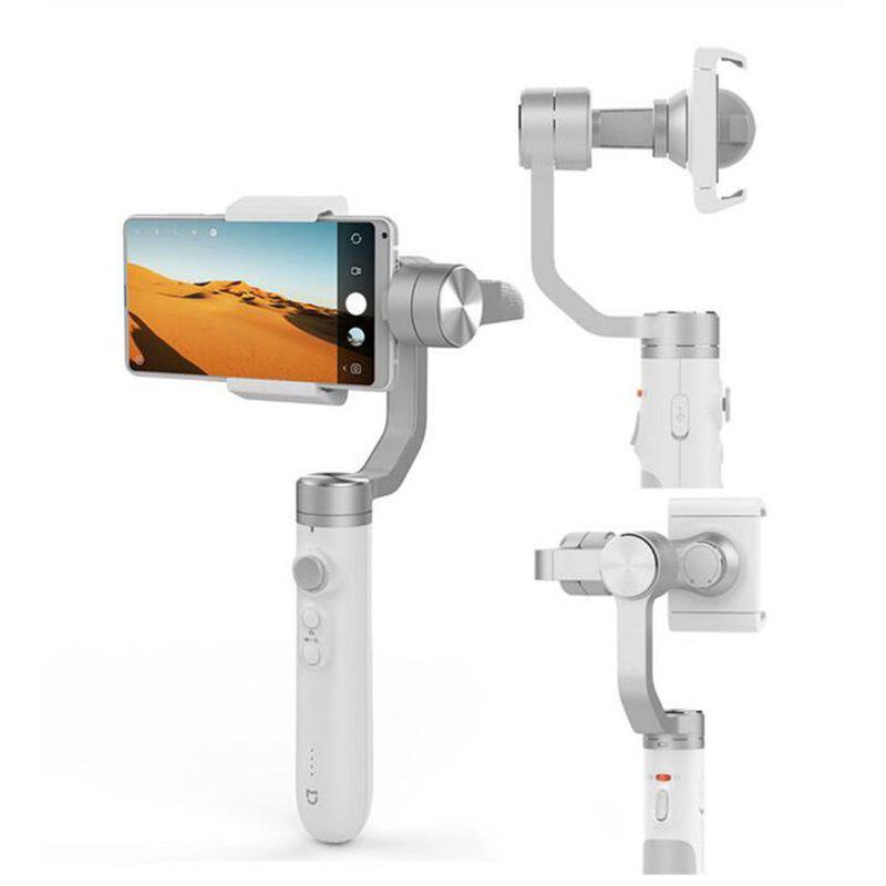 Top Vendeur XiaomiMijia portable Gimbal stabilisateur 3 Smartphone Axis Gimbal 5000mAh pour Appareil Photo Mobile action SJYT01FM