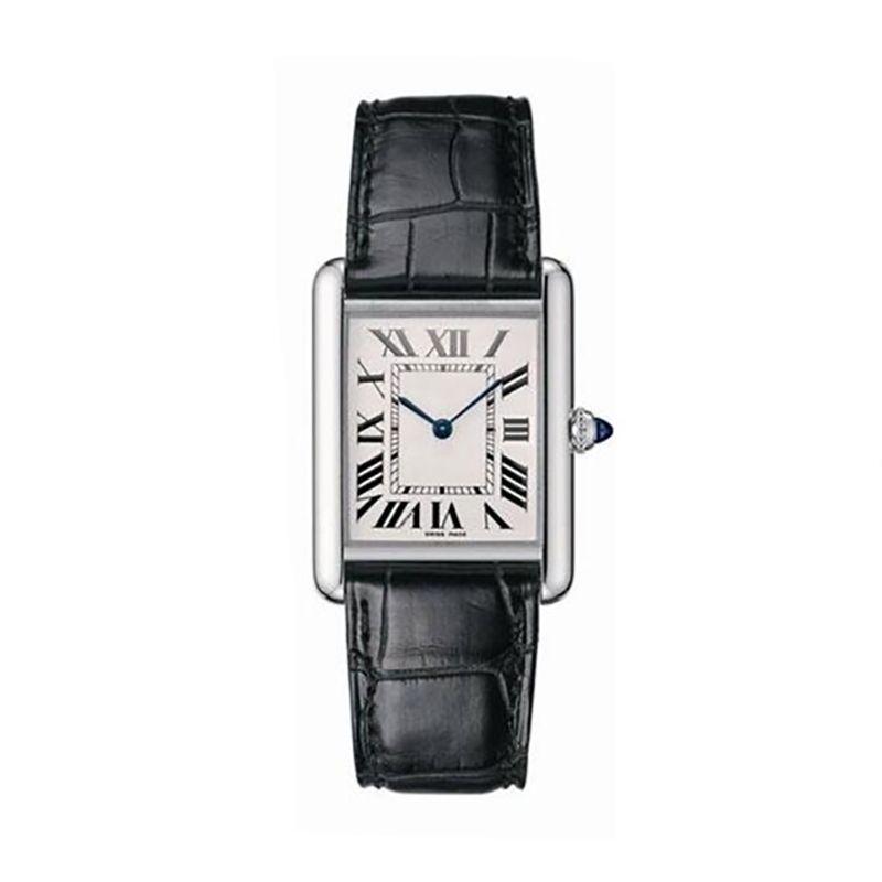 caijiamin-2019 Üst Yeni Moda Kadın Elbise Saatler Casual Rectangule Deri Kayış Relogio Feminino Lady Kuvars saatler orologio di lusso