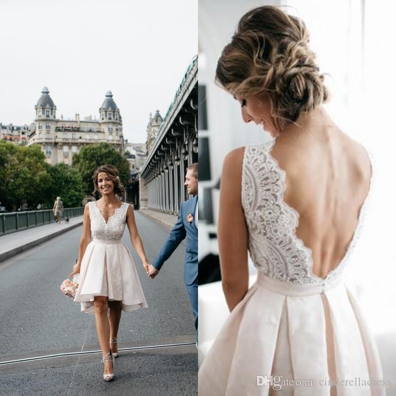 short wedding summer dresses