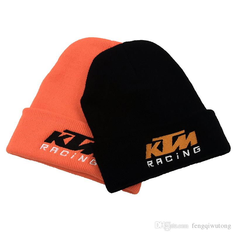 Winter New KTM Motorcycle Racing Rider Embroidery Knit Hat
