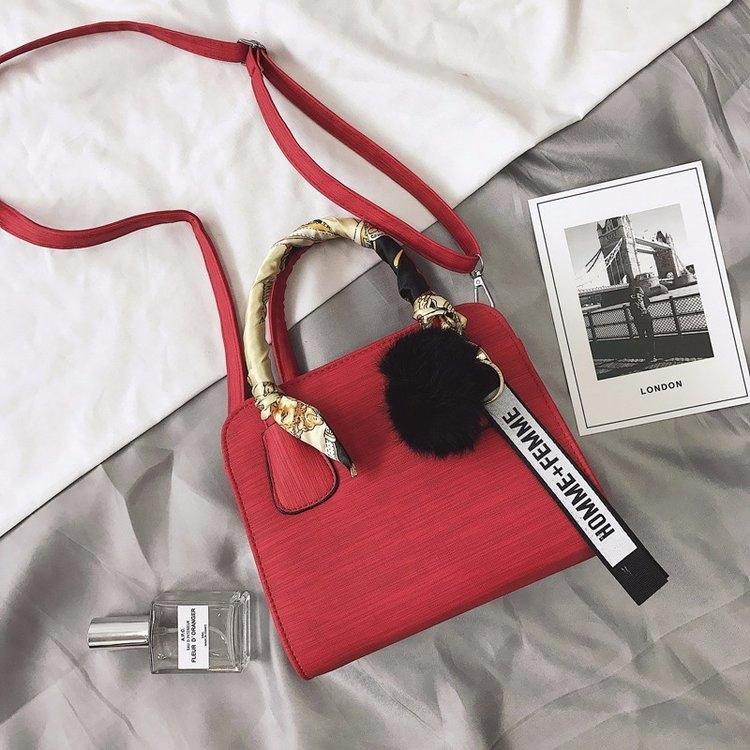 2020 nuevo de la manera Pequeño satchelSatchel mochila coreana estilo simple del todo-fósforo bolsa de mensajero portátil bandolera de las pequeñas mujeres de las mujeres
