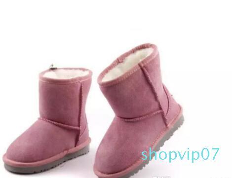 Vendita calda-libero Classic Tall Stivali donna stivali da neve inverno stivali in pelle di boot-Euro di 2018 di alta qualità WGG Donne
