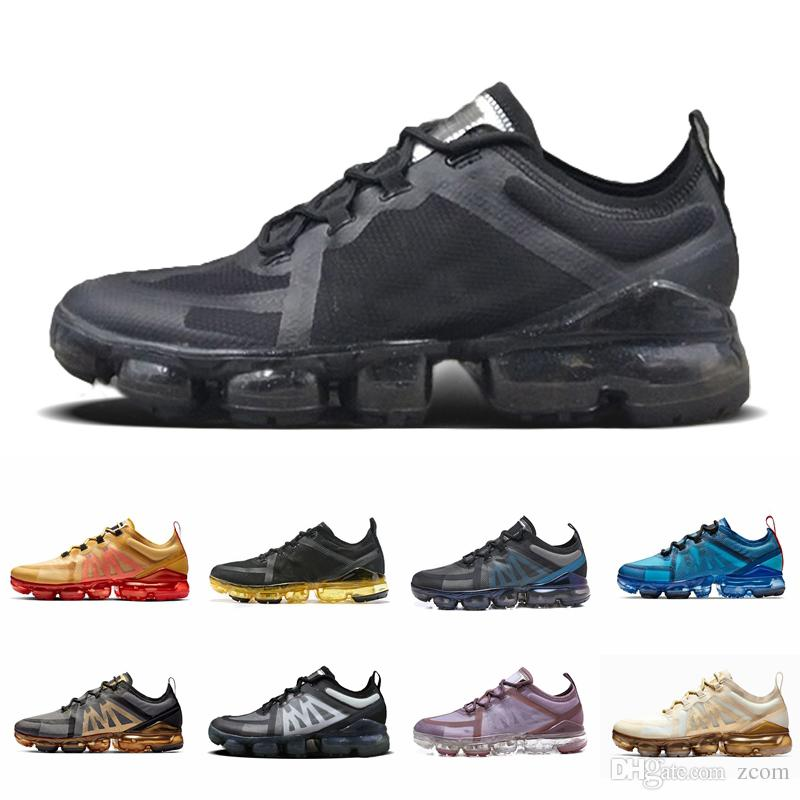 2019 Yastık Moda Yeni Adam Tasarımcı Sneakers Kanyon Altın Alüminyum Mavi Kadın Erkek Siyah Kırmızı Beyaz Eğitmenler Spor Koşu Ayakkabıları