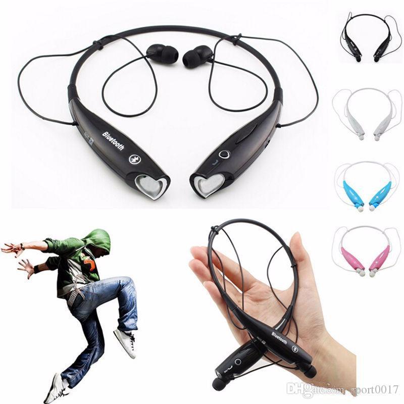HV800 Bluetooth Kulaklık Sport Kulaklık Kulak Stereo Kulaklık Kablosuz ile Mic İçin Samsung Xiaomi Huawei iPhone Sony Tablet VS HBS910