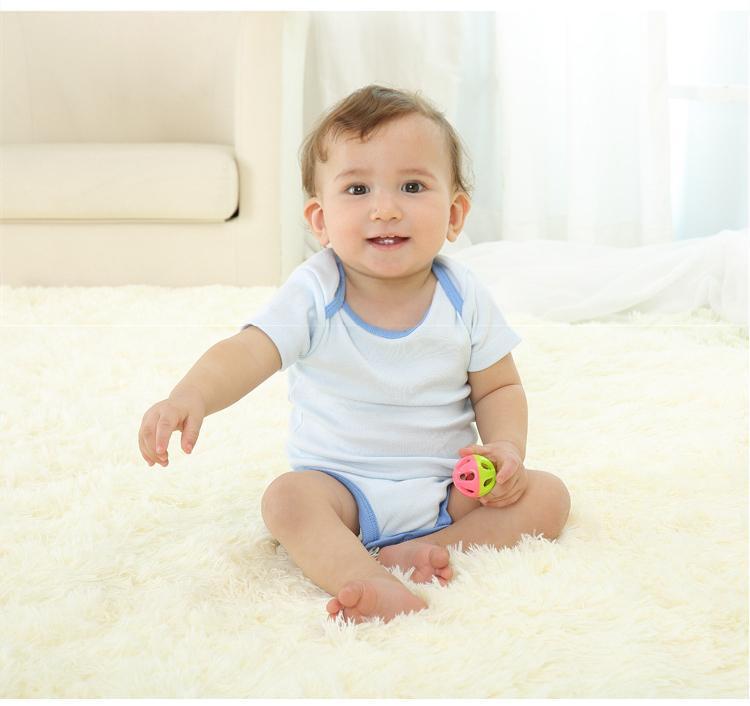 5pcs / lot Baby Body 100% algodón infantil del cuerpo de manga corta ropa similar Mono historieta impresa muchacha del bebé de los monos