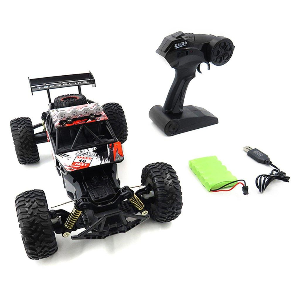 Hot 1/18 Scale 2.4Ghz 4WD High Speed RC Crawler Climber Buggy Off-Road Rock Electric RC Remote Control Car RTR