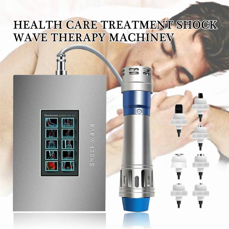 2020 جودة عالية صدمة الموجة العلاج آلة المسالك البولية صدمة الموجة العلاج ED العلاج الطبيعي حصلت CE شهادة قطرة الشحن