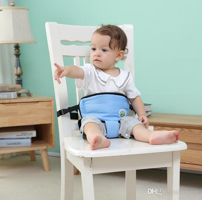Baby children's dining with anti-falling chair safe fixed belt child protective equipment belt portable chair belt 1