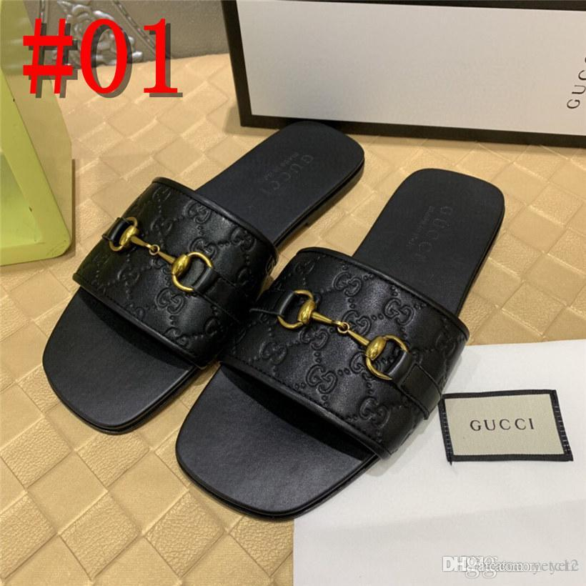 20FW black waterproof white 2019 slippers slides breathable men gladiator sandals summer fashion slip on casual roman shoes designer con19