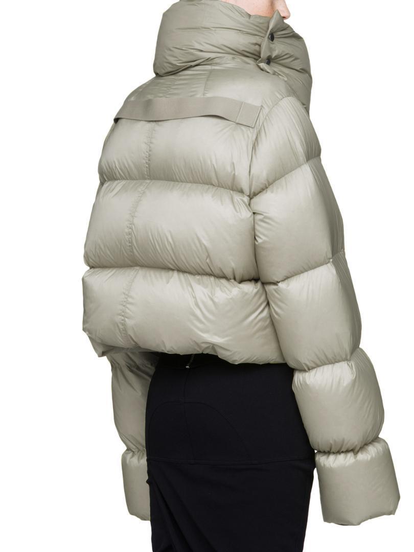 النساء 2019 تصميم الشتاء العلامة التجارية الجديدة الفائقة الجودة المتضخم مقنعين سميكة الدافئة 90٪ بيضاء أسفل سترة معطف طويل أنثى خارجية