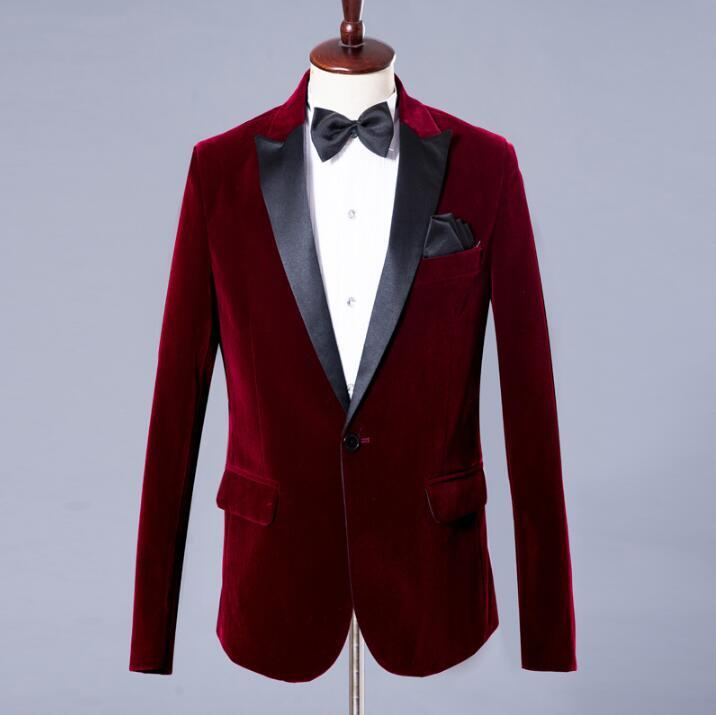 Chorus mariage groom wedding suits for men blazer boys prom suits fashion slim masculino latest coat pant designs commercial