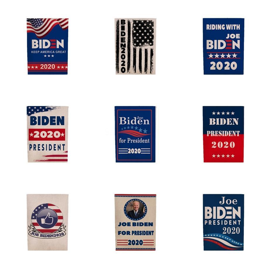 Дональд Байден флаг 2020 45 * 30 см 5 стилей Берни печатный полиэстер США баннер флаг Дональд флаги Partyware T2I5690 #143