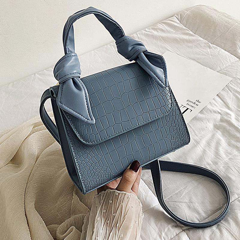 MINI камень шаблон PU кожа Crossbody сумки для женщин 2020 Роскошные плеча Сумка Lady Тотализаторов Дизайн ручки сумки T200605