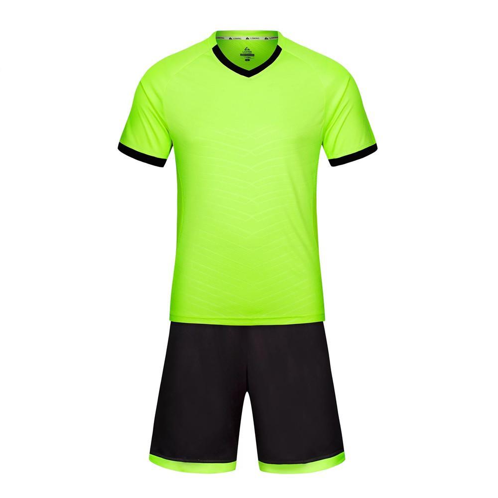New Kids Football Kits Boys Soccer Sets Jersey Uniforms Futbol Training Suits Breathable Polyester Short Sleeved Jerseys LL13