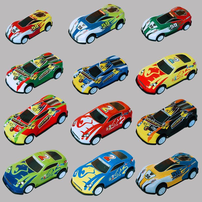 Manufacturer's special metal sheet return force equation car alloy toy car model