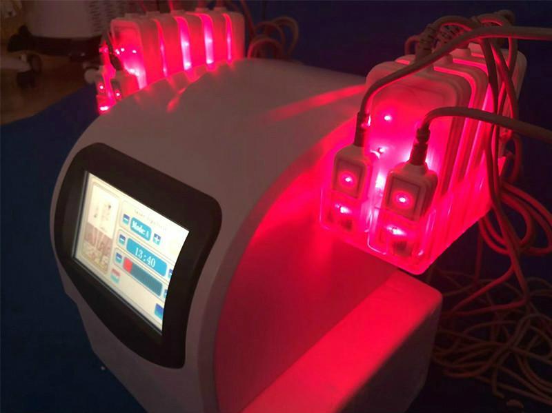 L'efficace corpo che dimagrisce la cintura di pancia non invasiva a macchina della lipolisi riduce l'attrezzatura di bellezza del dispositivo di combustione grassa del laser 635Nm 650Nm di Lipo