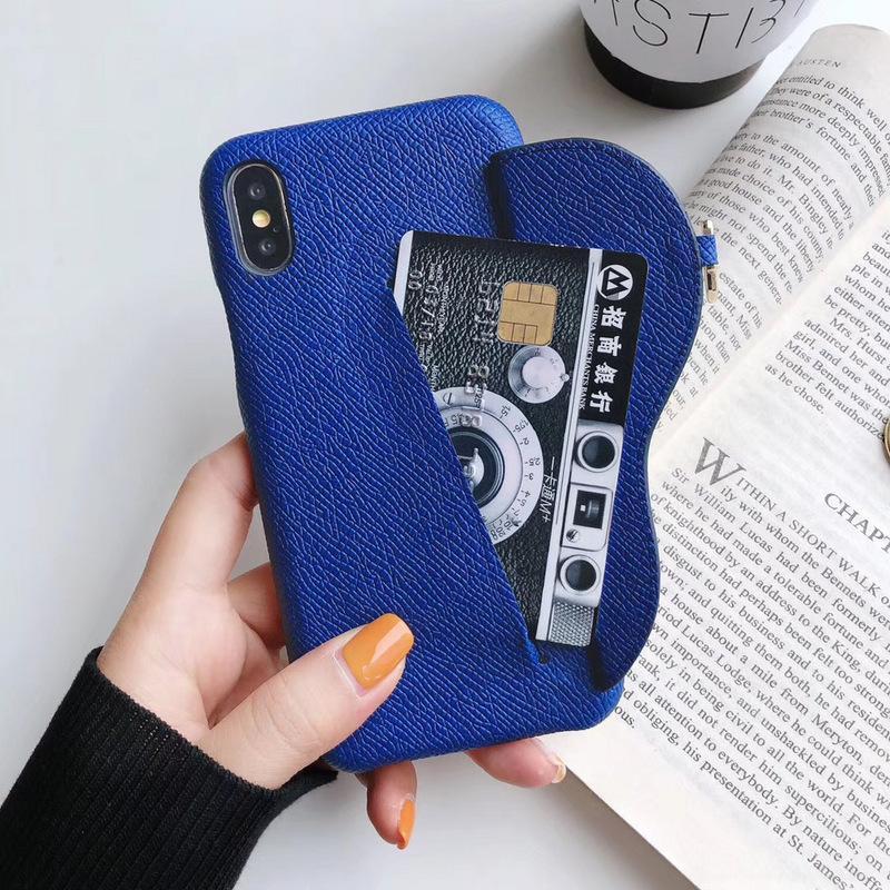 Casse del telefono dal design di lusso per iphone 11 Pro Max 7 8 più di modo con il coperchio della scheda Slot per iPhone X XR XS MAX