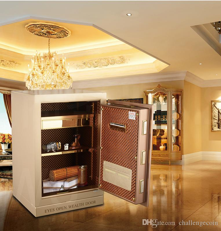 Made in China - high-tech products, high-end security deposit box/safe, iris recognition technology