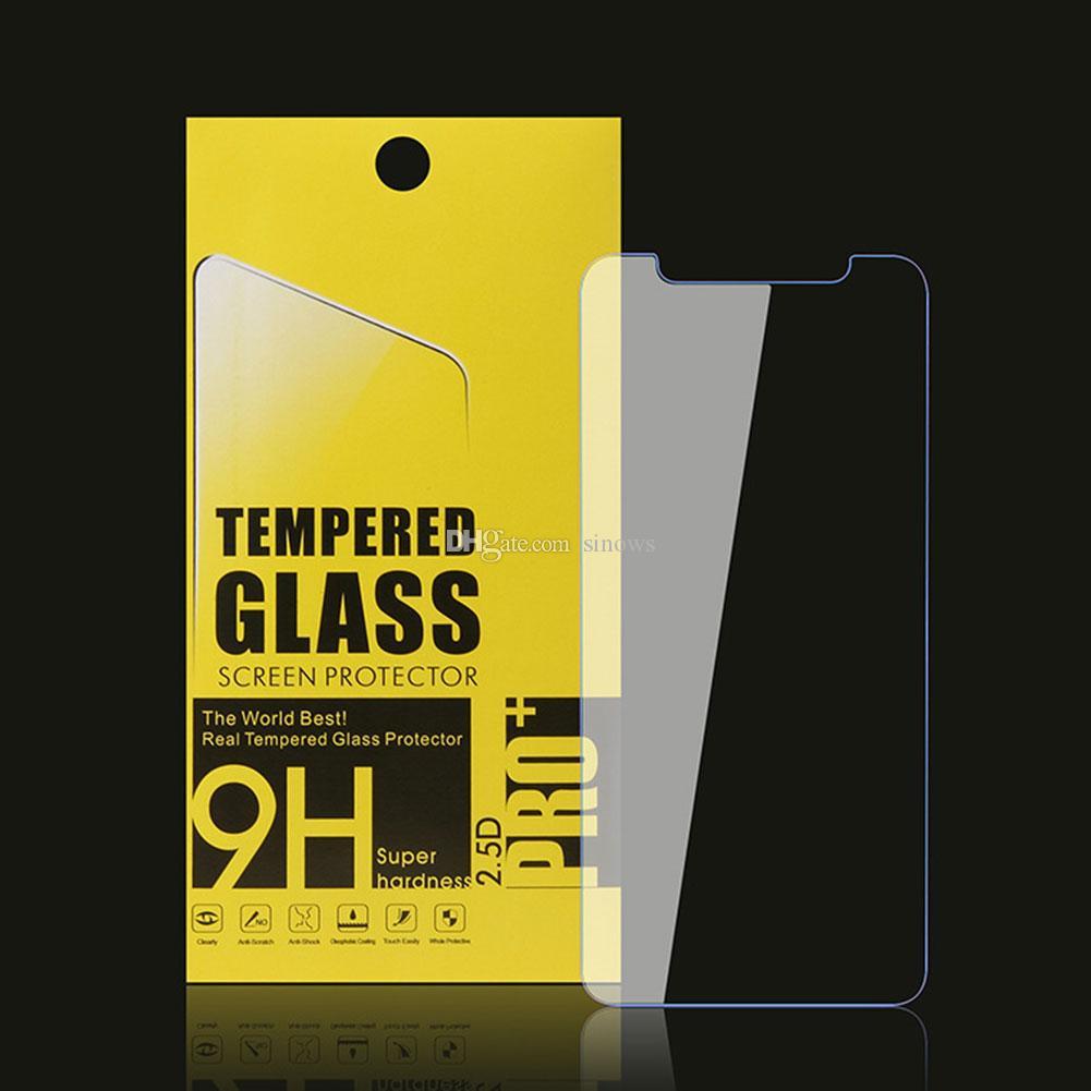 9H-tempererat glas för iPhone 11 Pro Max X XS Anti-Bländningsskärmsskydd skyddsfilmskydd i 8 7 6 6s plus 6.5 tum 6.1in