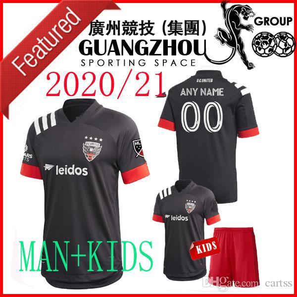 20 21 DC DC United embroma los jerseys 2020 D C Gressel casa 31 Flores 10 camisetas de fútbol Jersey ARRIOLA 7 KAMARA 9 MLS