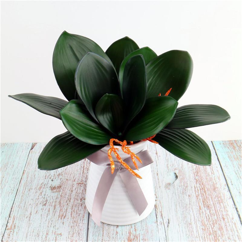 Artificial Plant Leaf Table Centerpiece Home Decor Wedding Party Event PVC Fake Plant Leaf