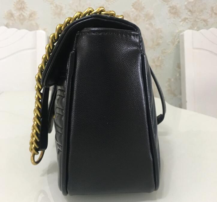 Top Quality 5colors saco famosa cadeia de couro saco de mulheres marca designer de Ombro corpo cruz cor pura mulheres bolsa crossbody saco da bolsa