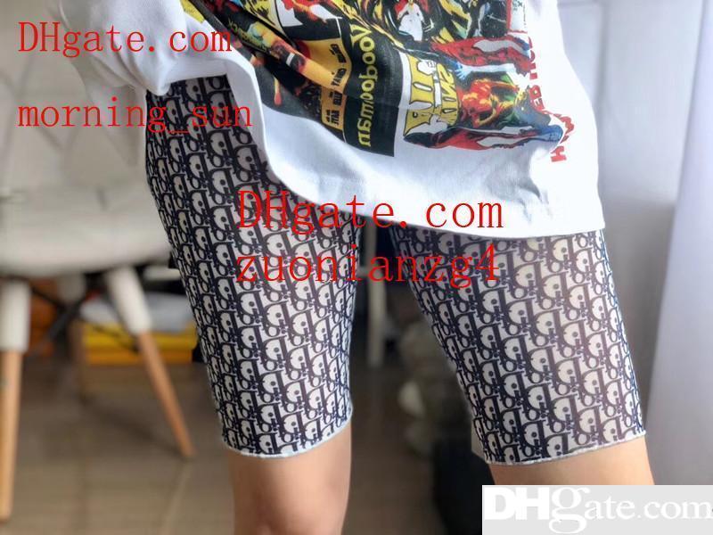Pantalones cortos de seguridad Pantalones cortos para mujer debajo de la falda Medias cortas femeninas Ropa interior transparente transpirable Pantalón de cintura media